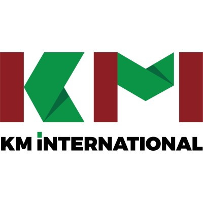 KM INTERNATIONAL Logo